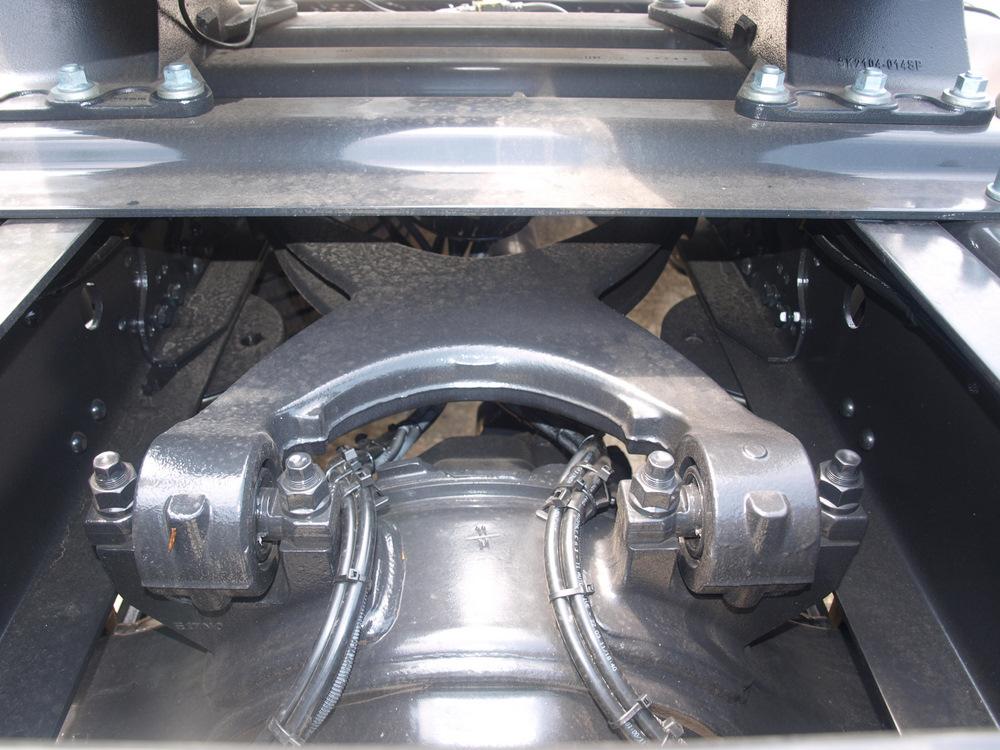 升降装置 刹车制动系统 双回路气压式?图片